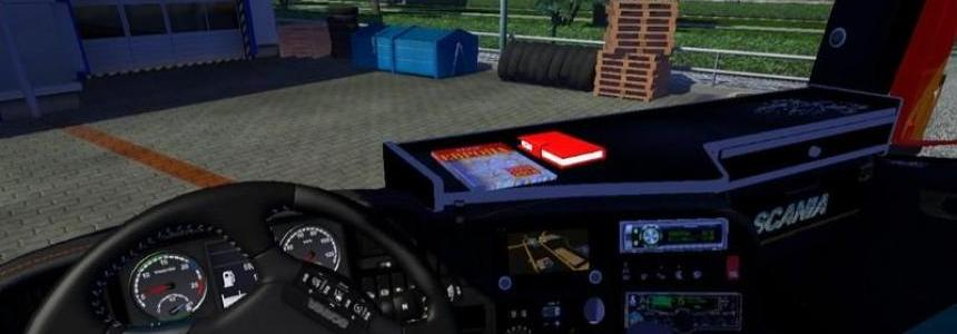 Interior with accesories for Scania R 700 v1.0