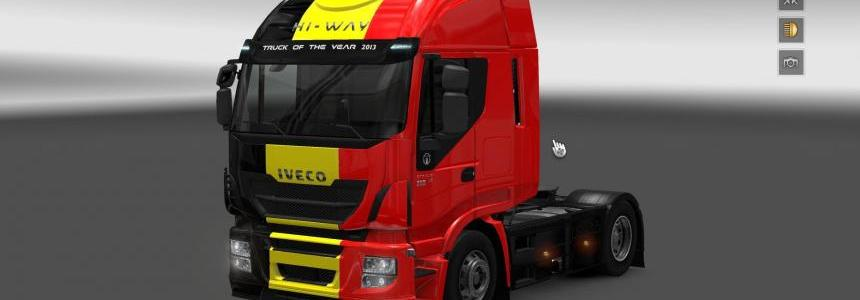 Iveco Hi-Way Belgique skin