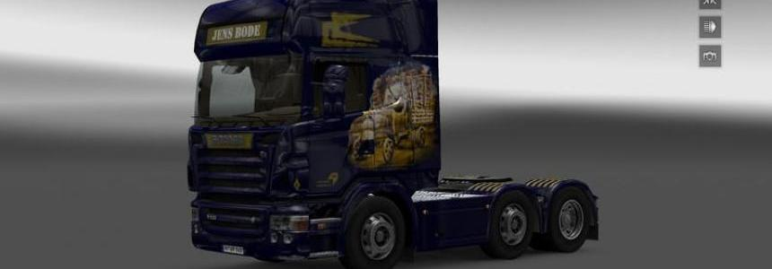 Jens Bode for Scania R2008 v1.0