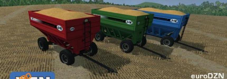 J&M 680SD Gravity Grain Wagons