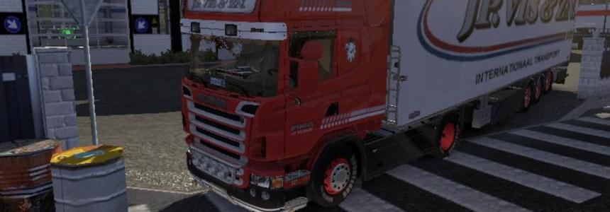 JP. Vis - Scania R2008 & Trailer 1.13.3