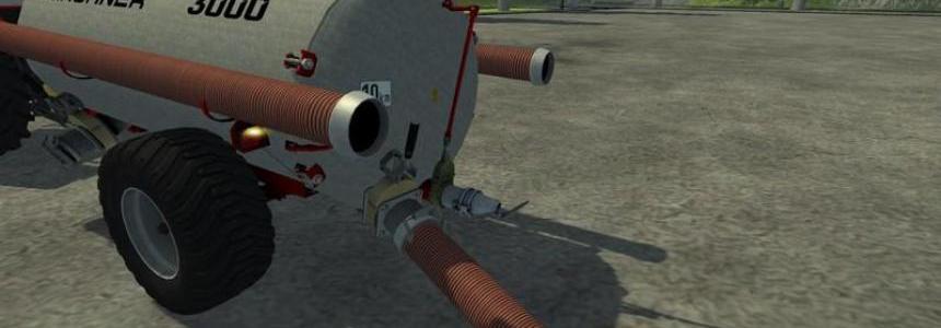 Kirchner 3000l slurry tanker v1.0