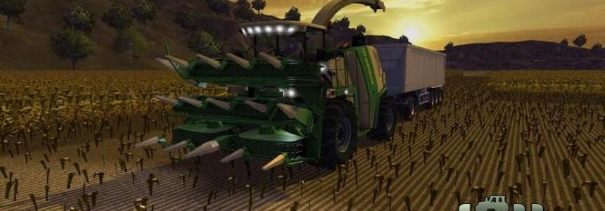 Krone Big X 1000 forage harvester v2.0