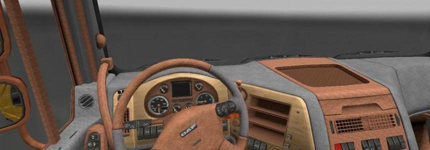 Leather Dark for DAF XF v1.13.3
