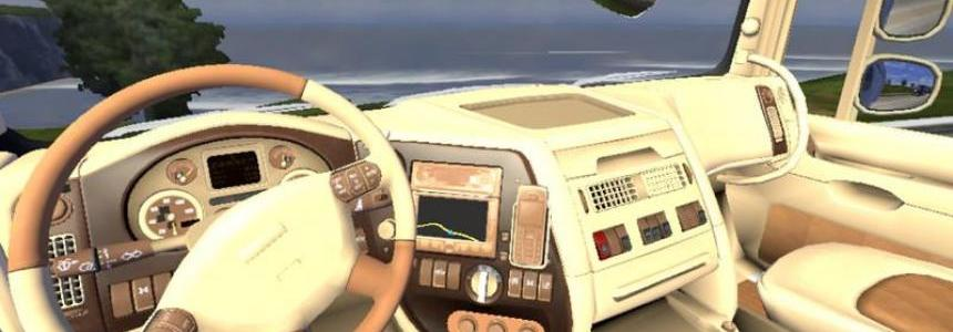 Leather Interior for DAF XF v1.13.3
