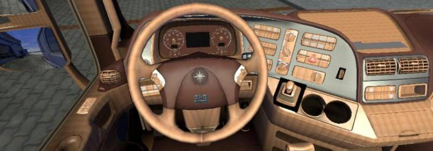 Leather Interior for Mercedes Actros v1.13.3