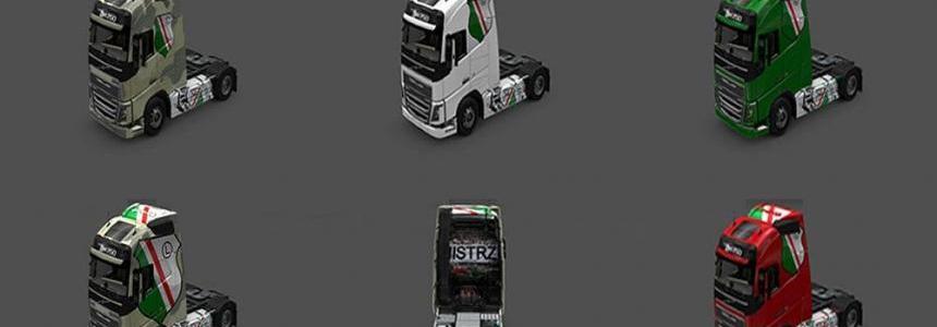 Legia Warszawa Truck Skin Volvo