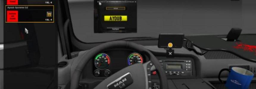 MAN Real Dashaboard and GPS v2.0
