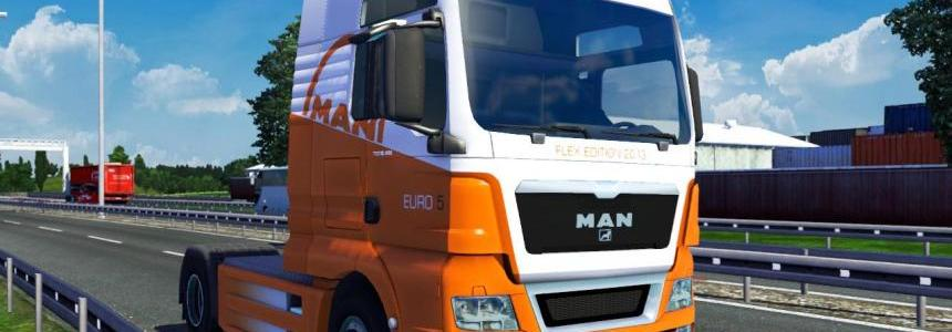 MAN TGX 2014 Euro 5 2014 Flex Edition