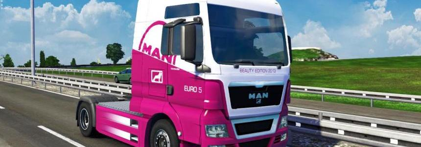 MAN TGX 2014 Euro 5 Beauty Edition