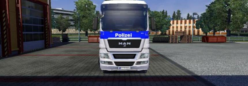 MAN Tgx Federal Police v1.0