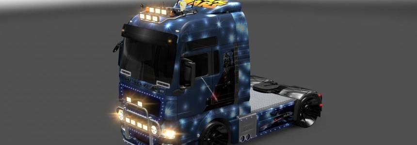 MAN TGX Star Wars Skin v1.0