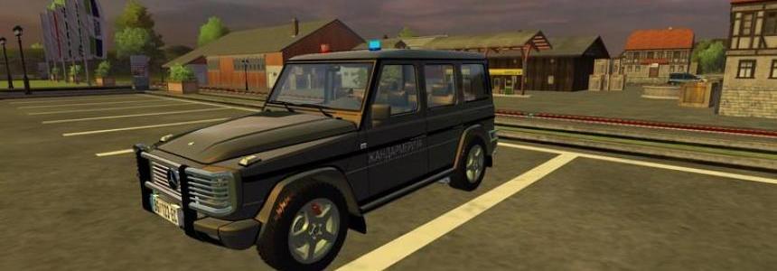 MB G500 Police edition v2.0