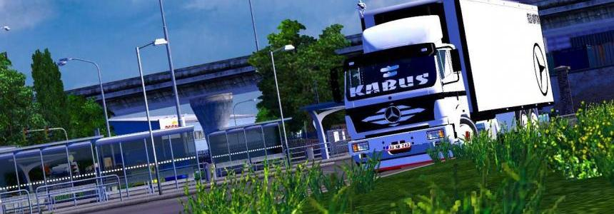 Mercedes Benz 2521 frigo truck