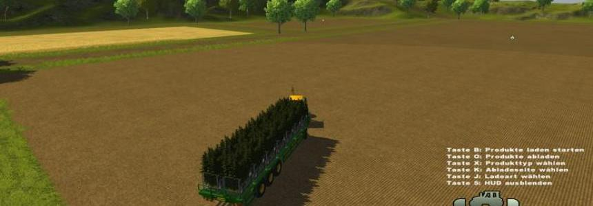 NC Engineering 41ft bale trailer v1.1 Spudsbox