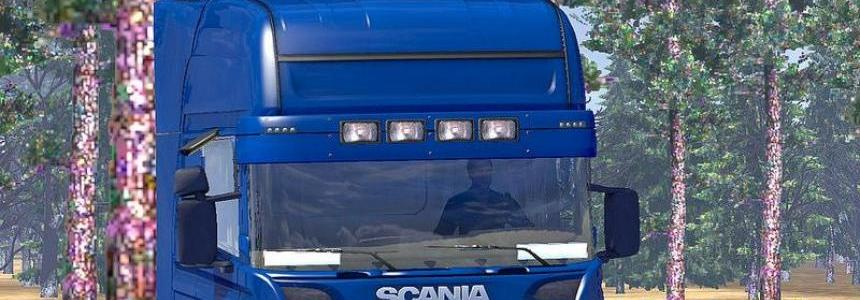 New Sunshield for 50keda Scania R2008