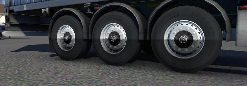 New trailer rims