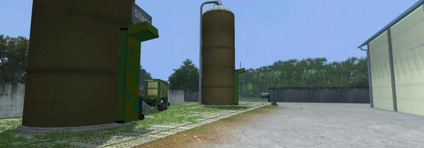 Placeable UPK SilageHochsilo v1