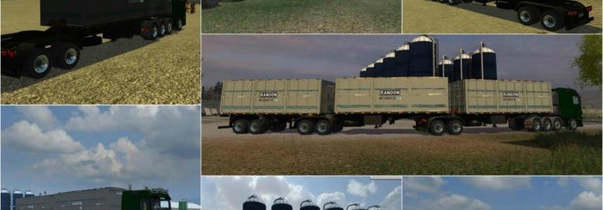 Randon BiTrem grain semi trailers v1.0
