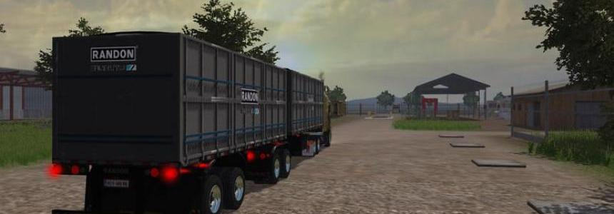 Randon BiTrem grain semi trailers v1.1