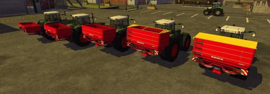 Rauch Fertiliser spreaders v3.0 MR