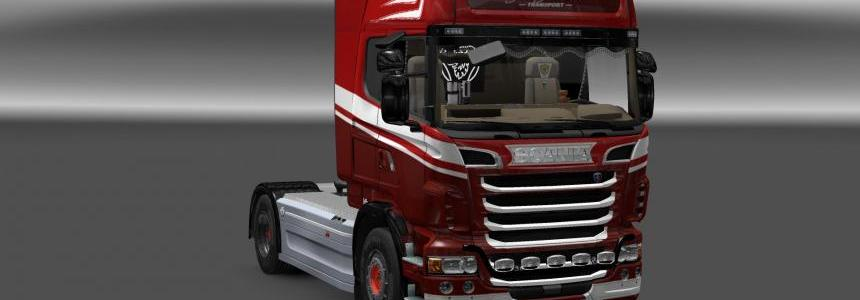 Scania R Jos Jansen transport skin