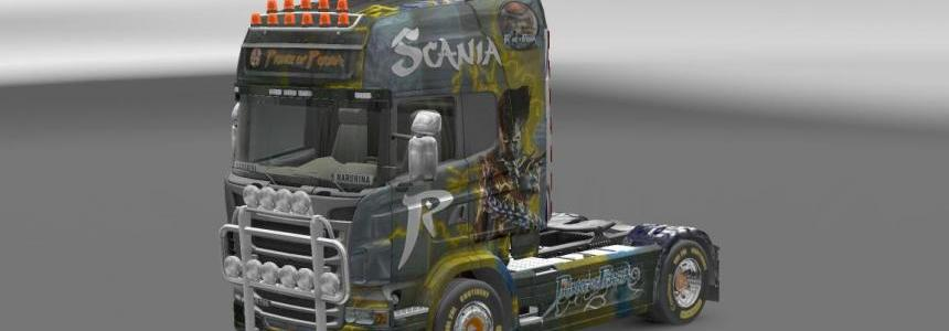 Scania R Reworked Prince of Persia Skin