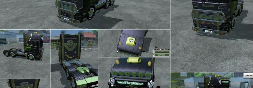 Scania R730 ALIEN v2.0