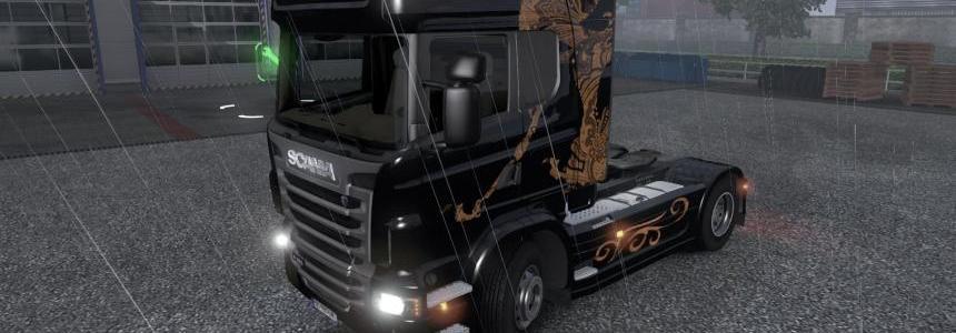 Scania Skin Wayang