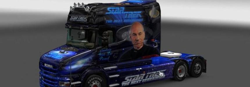 Scania Star Trek Skin v1.0