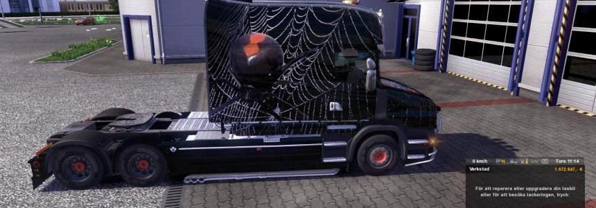 Scania T-Longline Spidey skin v1