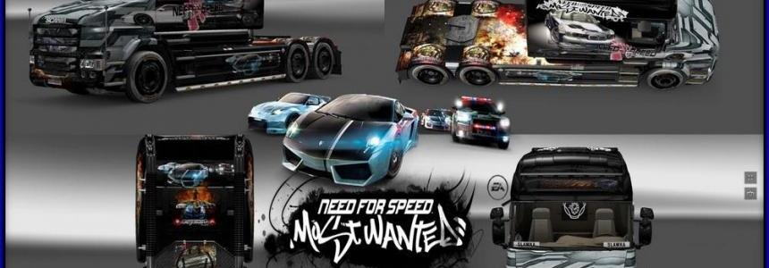 Skin Need For Speed Most Wanted Scania T