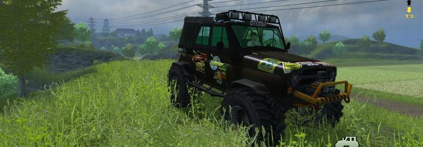 UAZ-469 Monster More Realistic