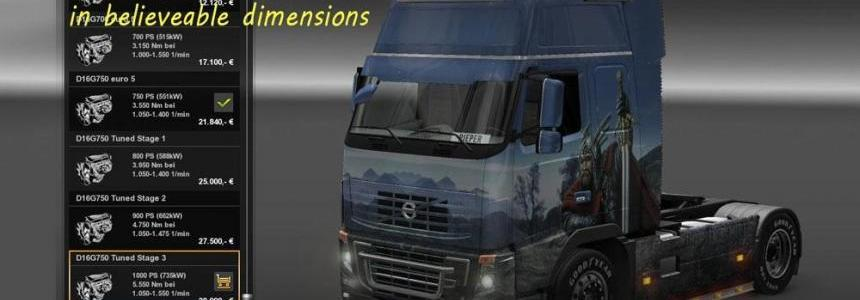 Volvo FH 2009 Tuned Engines