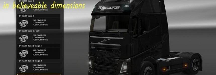 Volvo FH 2012 Tuned Engines