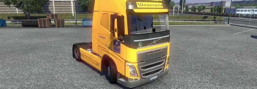Volvo FH 2012 Waberer's Skin