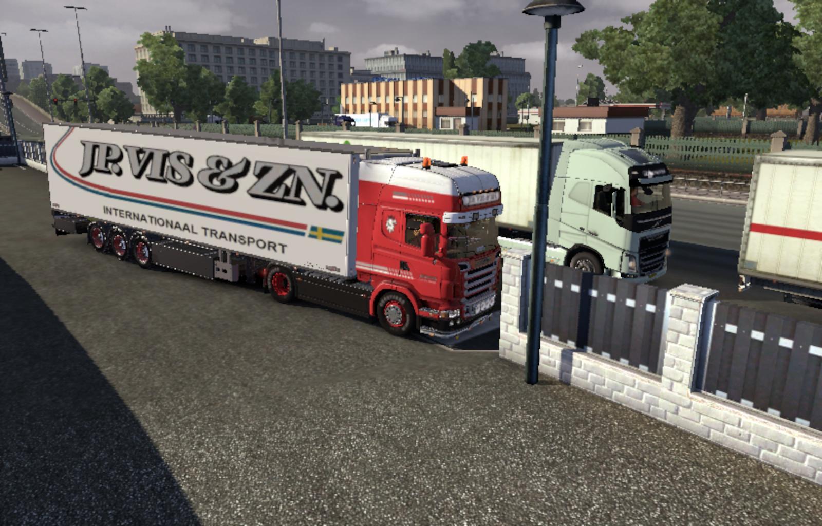 JP. Vis - Scania R2008 & Trailer 1.13.3 - Modhub.us