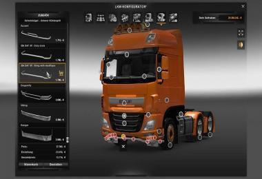 New SCS DAF Euro6 v2.0