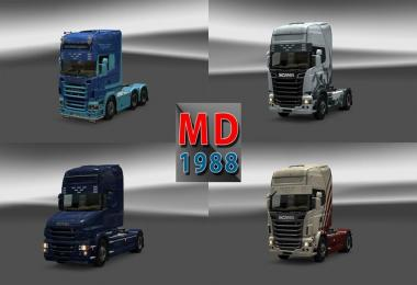 New sunshield scania color truck 1.13.xx