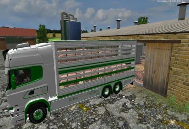 Scania Viehtransport Set v1.0