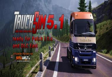 TruckSim Map v5.2