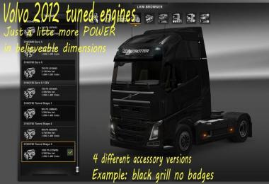 Volvo FH 2012 Tuned Engines