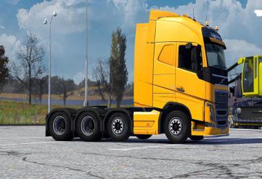Volvo fh16 2012 8x4 taglift