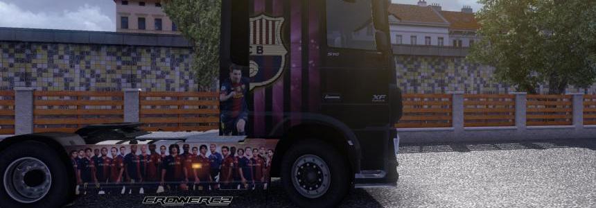FC Barcelona / Leo Messi - DAF XF Euro 6 1.14