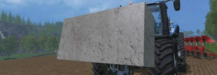Concrete weight v1.0