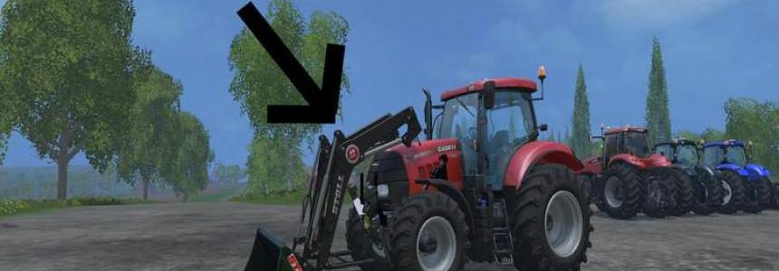 Case IH Puma 160 with front loader v2.0