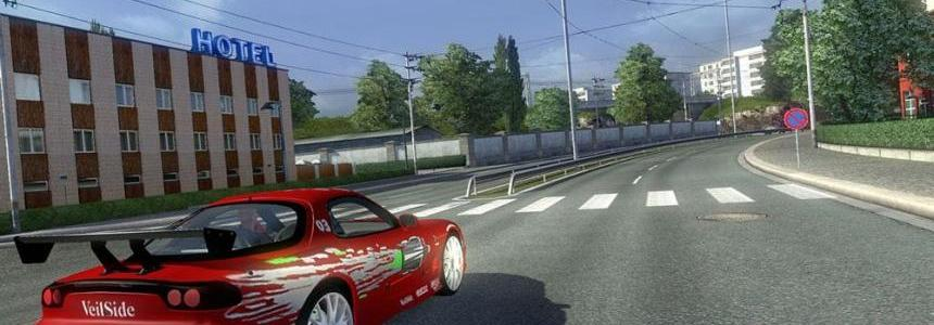 AI Traffic Mazda RX 7 v1.1