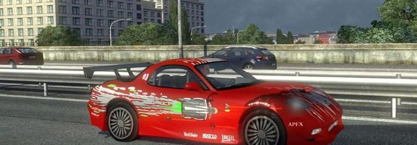 AI Traffic Mazda RX 7