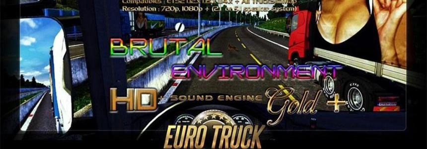 Brutal evironment HD + Sound engine GOLD + (Plus)