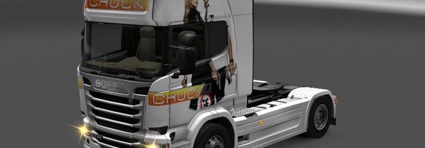 Scania chuck skin